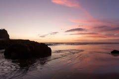 Praia de Muriwai Foto de Stock Royalty Free