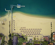 Praia de Mussulo, Luanda, Angola Fotos de Stock Royalty Free