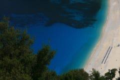 Praia de Myrtos Fotografia de Stock