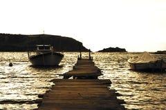 Praia de Nafplio Fotos de Stock Royalty Free