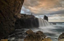Praia de Nambung fotografia de stock royalty free