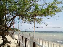 Praia de Nasugbo foto de stock royalty free