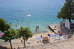 Praia de Neum Imagem de Stock