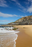 Praia de Newcastle - Newcastle Austrália Fotografia de Stock Royalty Free