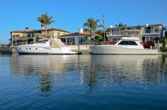 Praia de Newport, Califórnia, estados de Unitied Fotos de Stock Royalty Free