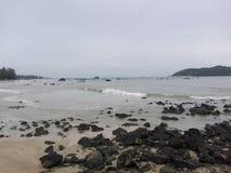 Praia de Ngapali (Myanmar) Foto de Stock Royalty Free