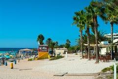 Praia de Nissi Imagens de Stock Royalty Free
