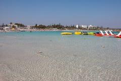 Praia de Nissi Fotografia de Stock Royalty Free