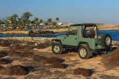 Praia de Nissi Agia Napa, Chipre Imagem de Stock Royalty Free