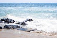 Praia de NJ Fotos de Stock Royalty Free