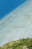 Praia de Nonza. Córsega Fotos de Stock