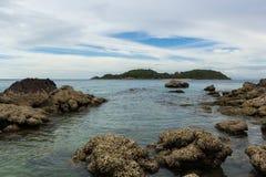 Praia de Nuan, Pattaya Fotografia de Stock Royalty Free