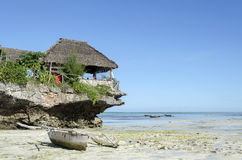 Praia de Nungwi fotos de stock