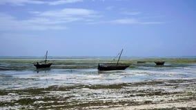 Praia de Nungwi, Zanzibar fotos de stock