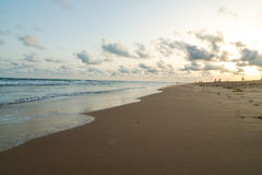 Praia de Obama em Cotonou, Benin Fotografia de Stock Royalty Free