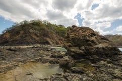 Praia de Ocotal em Guanacaste - Costa Rica Fotos de Stock Royalty Free