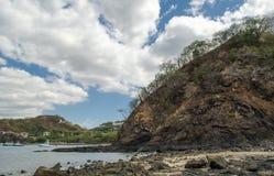 Praia de Ocotal em Guanacaste - Costa Rica Fotografia de Stock Royalty Free