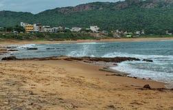Praia de Odisha imagem de stock