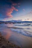 Praia de Okanagan do lago Imagens de Stock