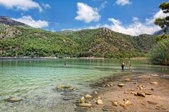 Praia de Oludeniz Foto de Stock