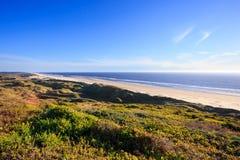 Praia de Oregon perto de Florença foto de stock