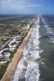 Praia de Ormond, Flordia. Fotografia de Stock Royalty Free