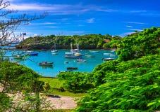 Praia de Ossos em Buzios, Rio de janeiro Fotos de Stock Royalty Free