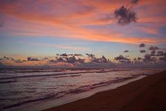 Praia de Panadura Imagens de Stock