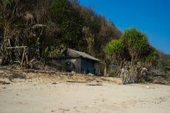 Praia de Pandawa Foto de Stock