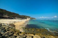 Praia de Pandawa Fotografia de Stock