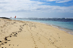 Praia de Pandawa fotos de stock