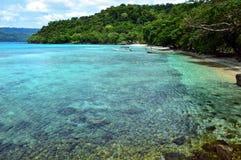 Praia de Paradise em Pulau Weh, Indonésia fotos de stock