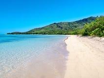 Praia de Paradise sem povos foto de stock