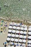 Praia de Paralia Fotografia de Stock