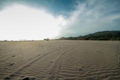 Praia de Parangtritis Foto de Stock Royalty Free