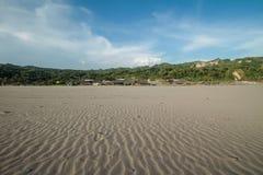 Praia de Parangtritis Fotografia de Stock