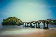 Praia de Pasir Putih Imagem de Stock