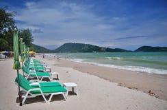 Praia de Patong Fotografia de Stock