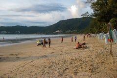 Praia de Patong Fotografia de Stock Royalty Free