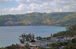 Praia de Patong na ilha de Phuket Fotos de Stock Royalty Free