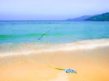 Praia de Patong na ilha de phuket, Tailândia imagens de stock