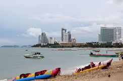 Praia de Pattaya Imagens de Stock