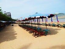 Praia de Pattaya Foto de Stock