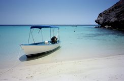 Praia de Paz de La México imagem de stock royalty free