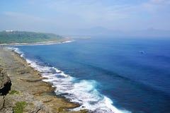 Praia de pedra Imagem de Stock