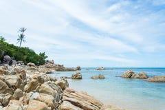 Praia de pedra Imagem de Stock Royalty Free