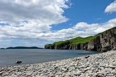 Praia de pedra fotos de stock