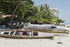 Praia de pedra da cidade, Zanzibar Imagens de Stock Royalty Free