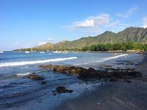 Praia de Pemuteran, Bali noroeste, Indonésia Fotografia de Stock Royalty Free