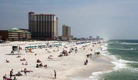 Praia de Pensacola Fotos de Stock Royalty Free